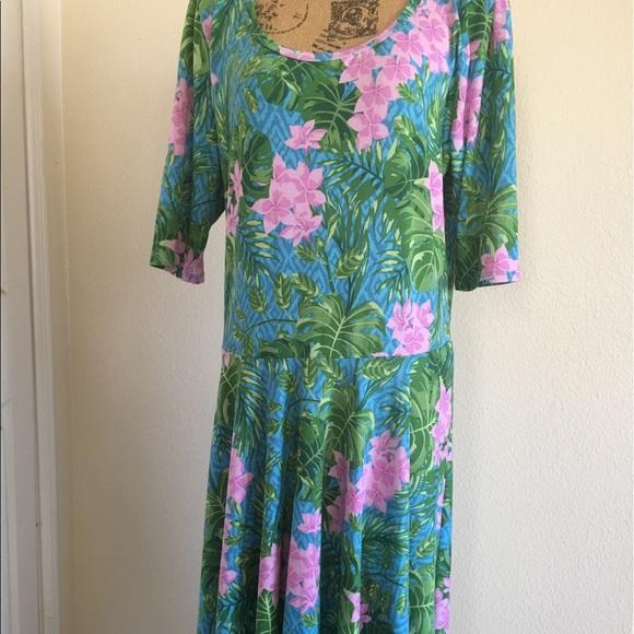 LuLaRoe Dresses & Skirts - Lularoe floral print dress